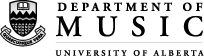 Department of Music - University of Alberta
